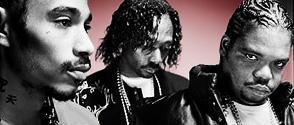 Les Bone Thugs avec K-Fed et Vanilla Ice