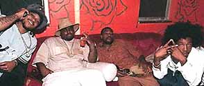 T-Mo et Khujo des Goodie Mob en duo